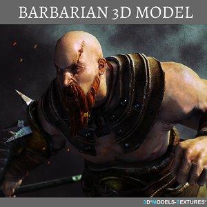 barbarian 3D