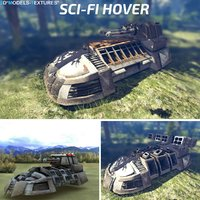 3D sci-fi hover
