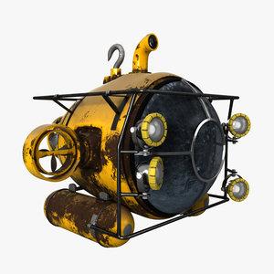 submarine sub marine model