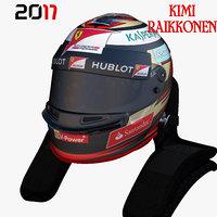 Raikkonen helmet 2017