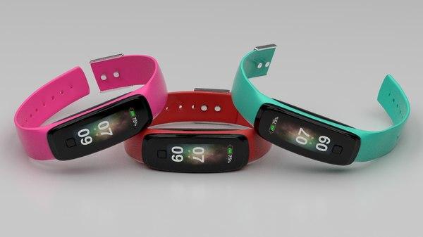smartwatches screen materials 3D model