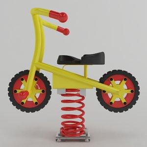 spring swing bike model