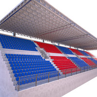 3D stadium tribune