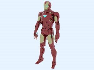 ironman mk6 3D model