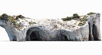 mediterranean cliff model
