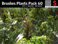 Brushes Plants Pack 60