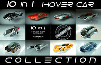 \\T// 10 in 1 Cheap & Cool Hover Car Collection 01