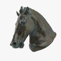 3D model medici riccardi horse
