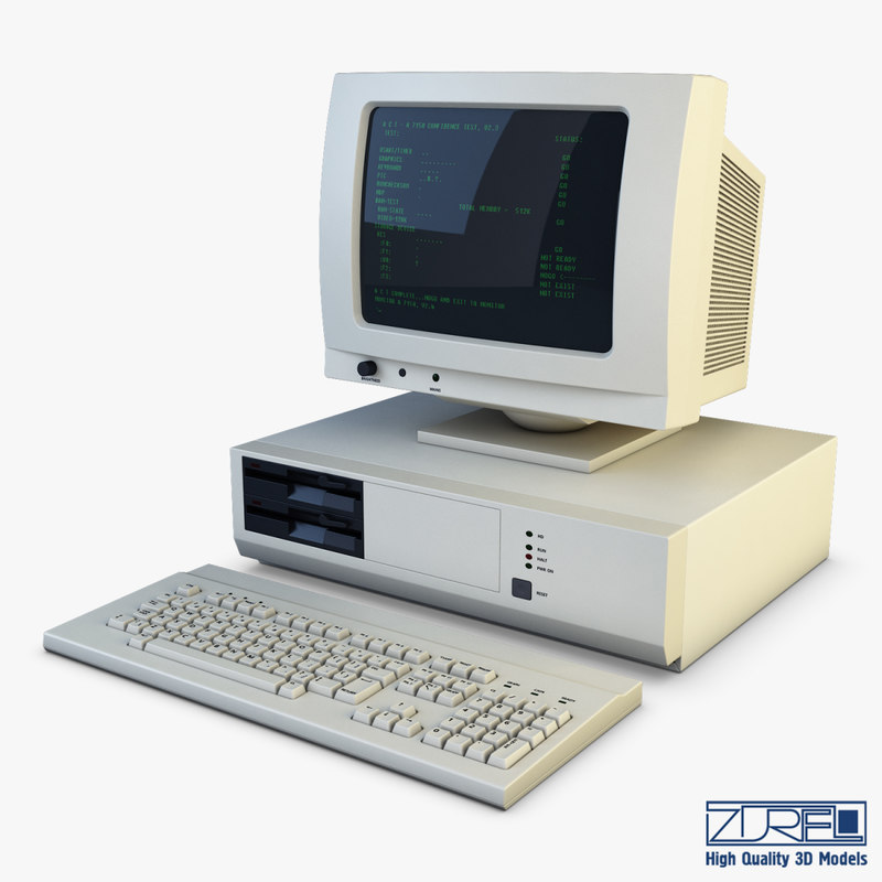 personal computer v 1 model