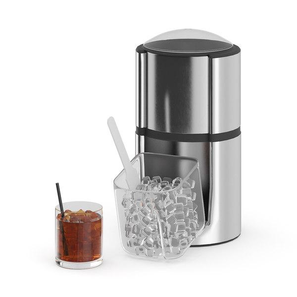 3D ice crusher model
