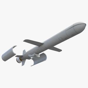 bgm-109c block iii tomahawk model