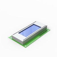 lcd module 3D model