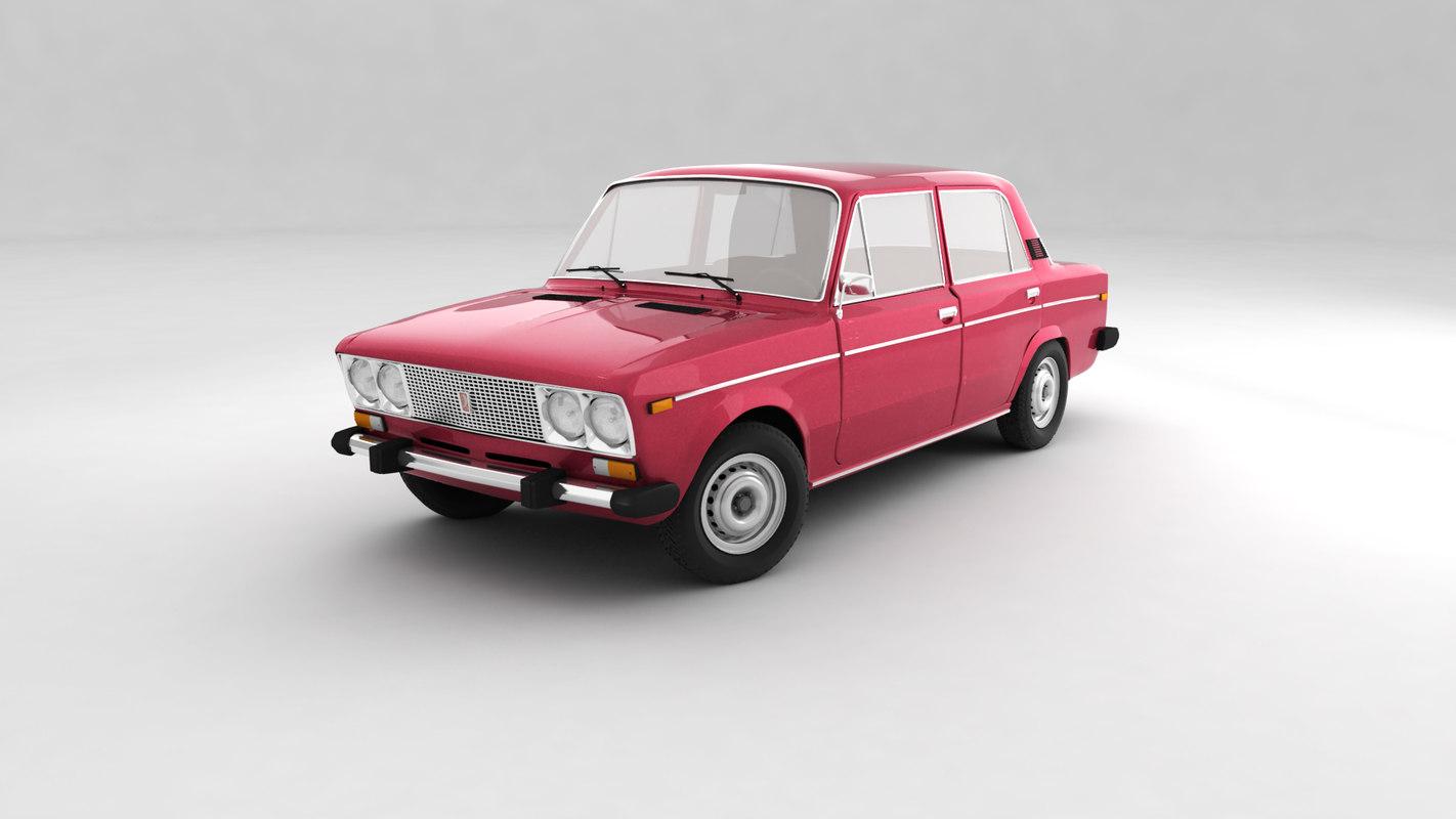 car vaz 2106 3D
