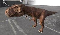 3D model t-rex t rex