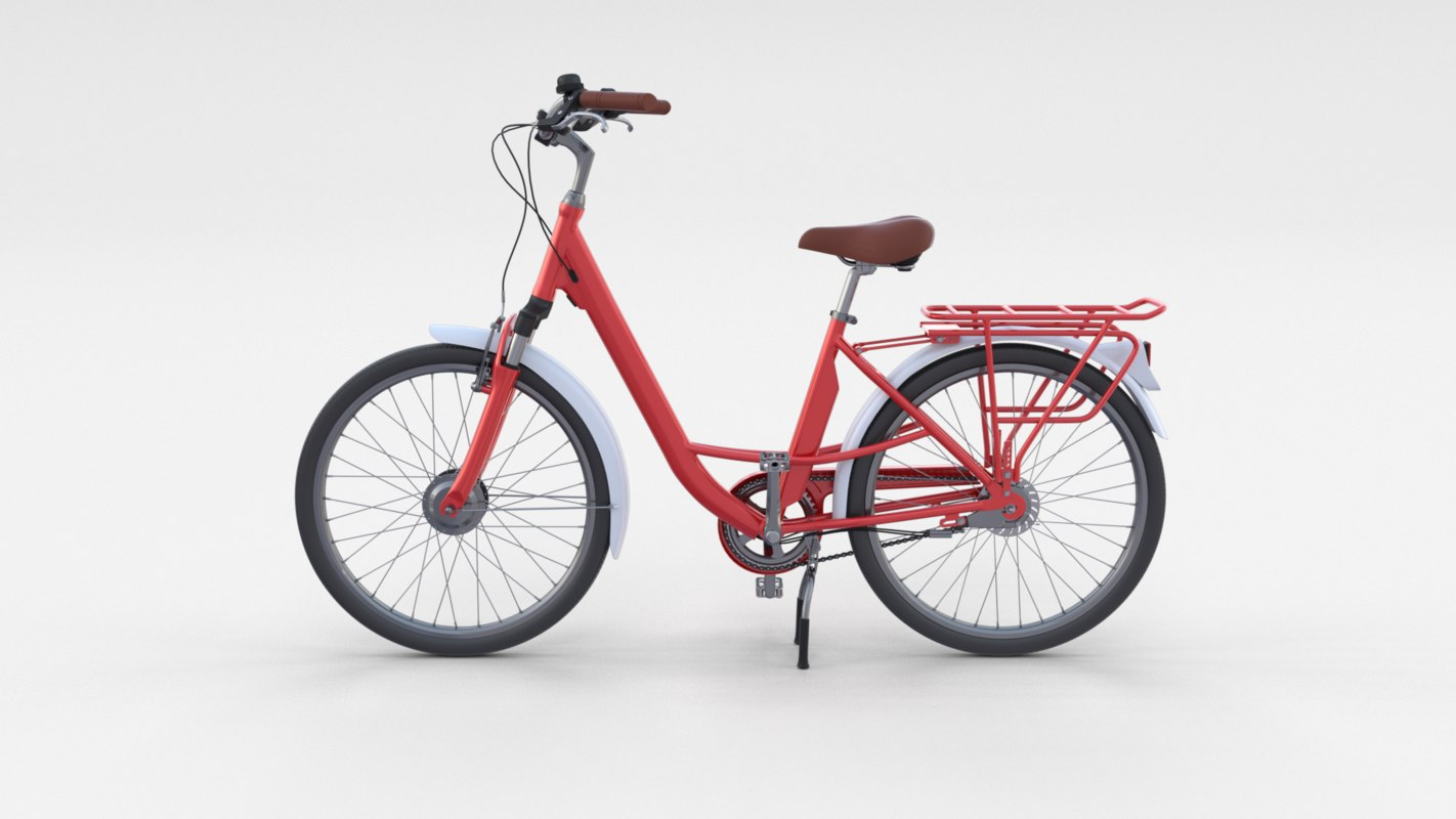 3D city bicycle