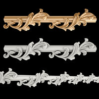 3D frieze gold
