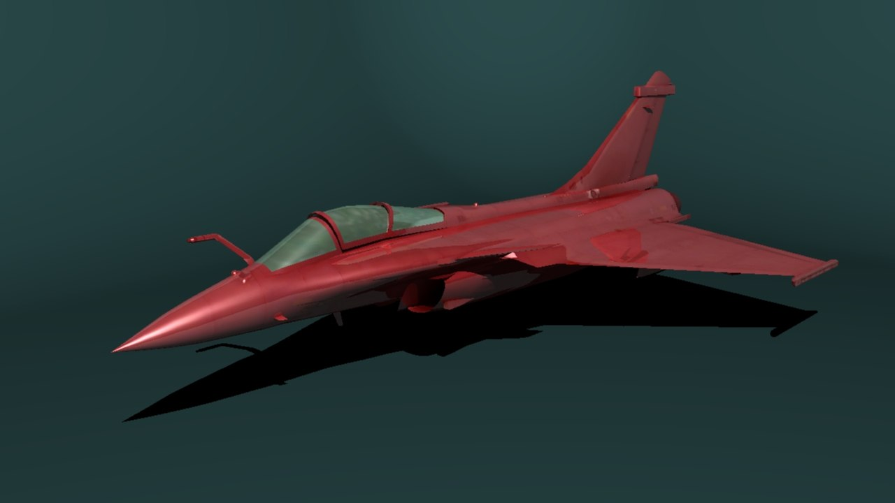3D dass rafal mirage model
