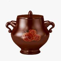 pot ceramics patterned model