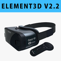 E3D - Samsung Gear VR + Controller For Galaxy Note 8 model