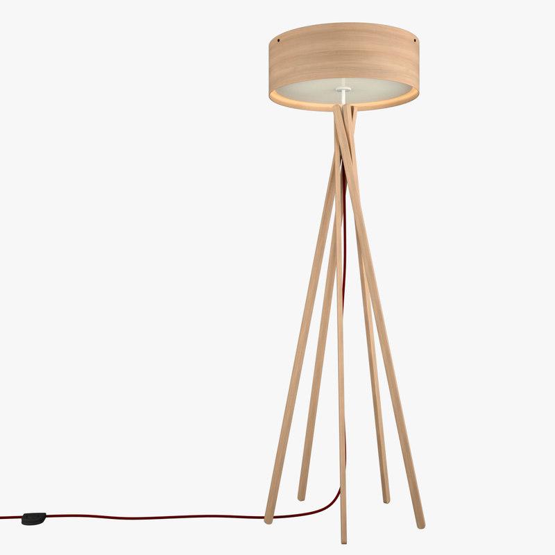 arba floor lamp 3D