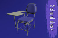 school desk model