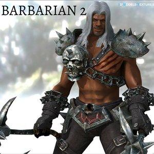barbarian 2 3D