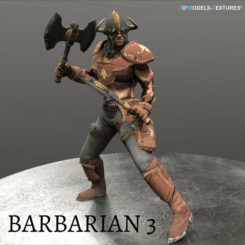 barbarian model