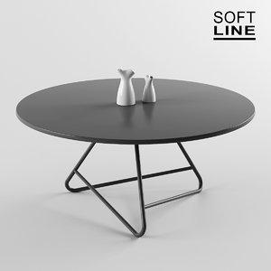 tribeca table softline model