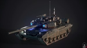 tank t90 3D model