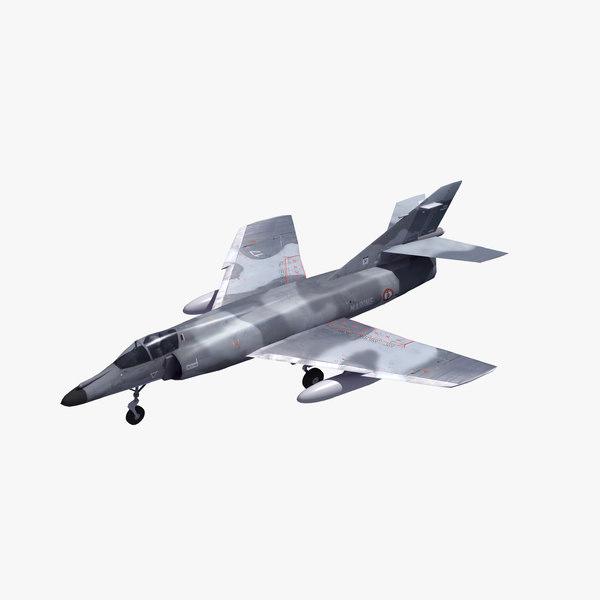 super etendard 3D model