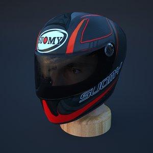 3D model sport helmet