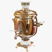 russian samovar 3D