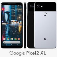 Google Pixel 2 Xl White And Black