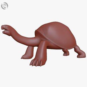 galapagos tortoise 3D model