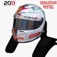 Vettel helmet 2017