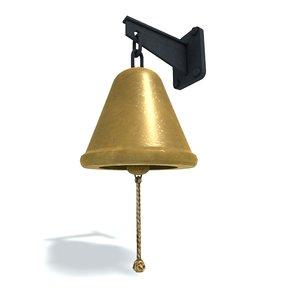 3D ship s bell model
