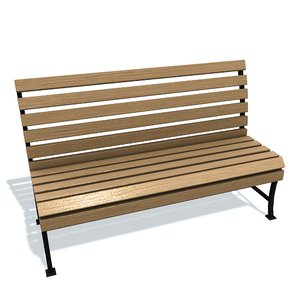 usual bench 3D