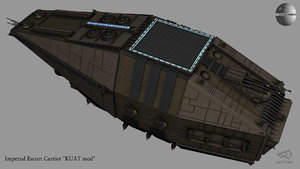 imperial escort kuat transport 3D model