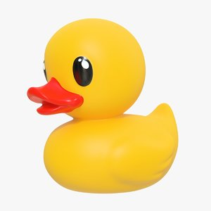 rubber duck 02 5 model