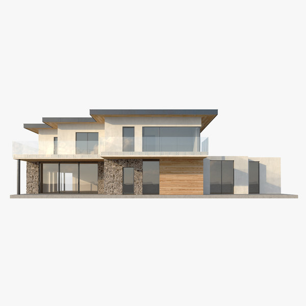 modern house2 3D model