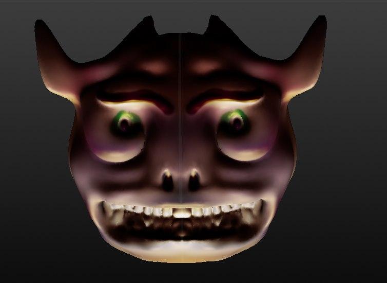 mask demon model