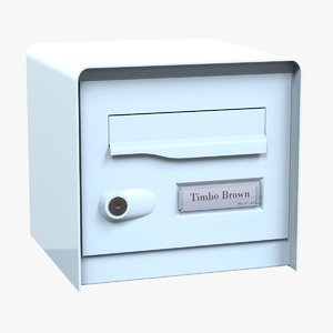 3D mail box v2