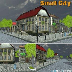 3D small city