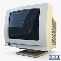 monitor v 1 3D model