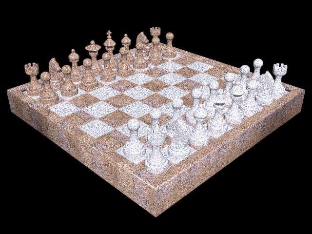 chess set 3D