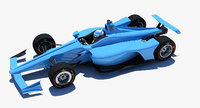 3D 2018 oval cars -