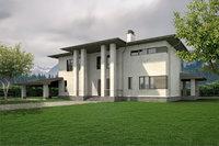 3D privet house