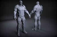 sci-fi galaxy lord 3D model