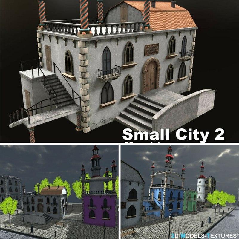 small city 3D