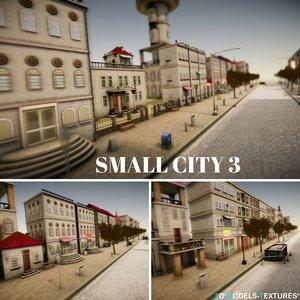 small city 3 3D